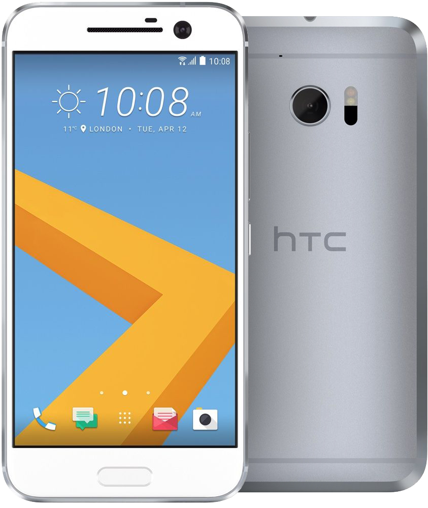 Смартфон HTC 10 Lifestyle (серебристый)