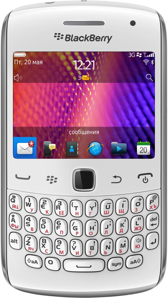 Смартфон BlackBerry Curve 9360 (белый)