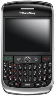 Смартфон BlackBerry Curve 8900 (черный)