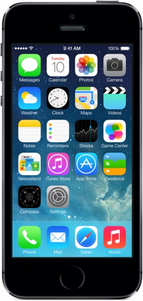 Смартфон Apple iPhone 5s 16GB (серый космос)