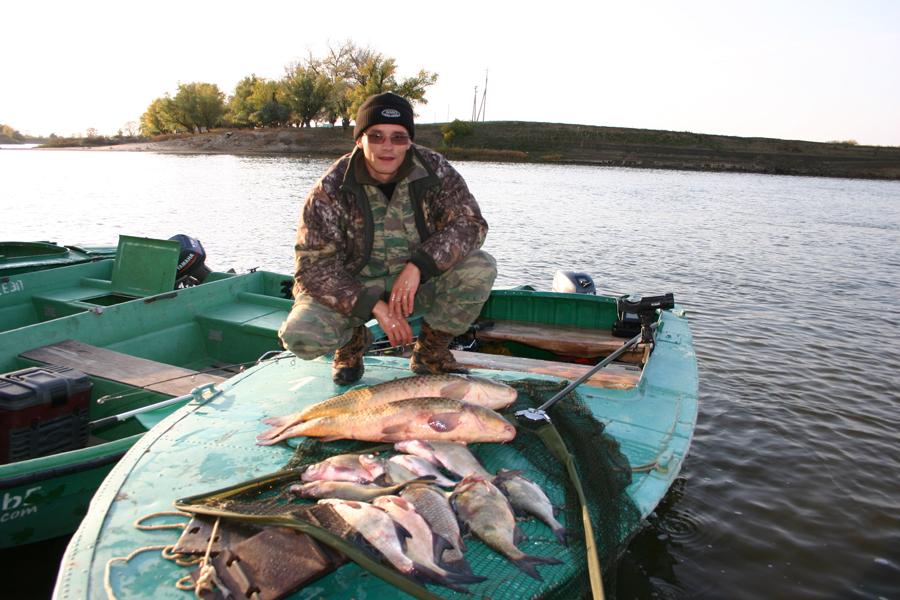 Рыбалка в половодье на ахтубе