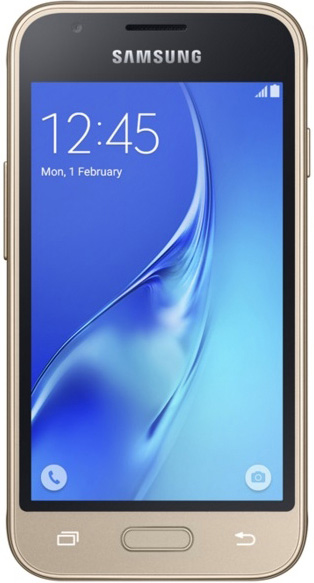 Смартфон Samsung Galaxy J1 mini (2016) (золотистый)